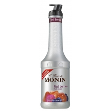 PUREE RED BERRIES - puree czerwone jagody 1l